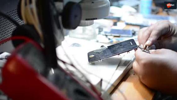 أقوى تكوين تطبيقي في إصلاح و فلاش الهواتف النقالة و التابلات
